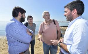 El Gobierno regional reconoce «cierta dejadez de todas las administraciones» en el Mar Menor