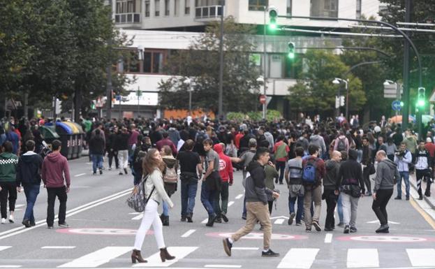Incidentes en Bilbao y Valencia durante las protestas contra la sentencia del 'procés'
