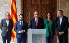 Torra urge a Sánchez a «fijar un día y una hora» para dialogar y rechaza la violencia