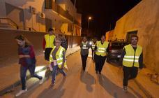 Los vecinos de La Aljorra vuelven a patrullar las calles por otra oleada de robos