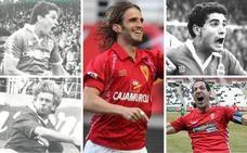 10 jugadores que son historia viva del Real Murcia