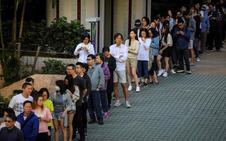 Hong Kong traslada la ira a las urnas