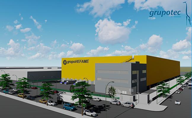 ETOSA se adjudica la construcción del gran centro logístico de HEFAME en Valencia