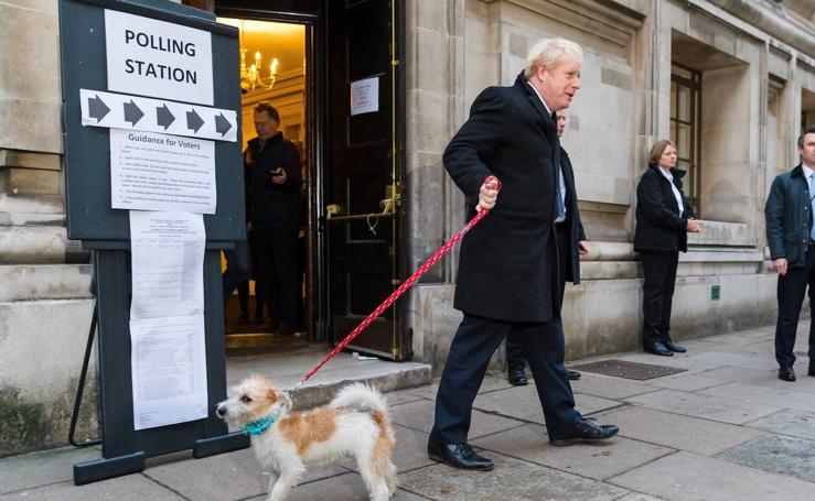 La jornada electoral del Reino Unido, en imágenes