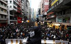 El caos regresa a Hong Kong con el año nuevo