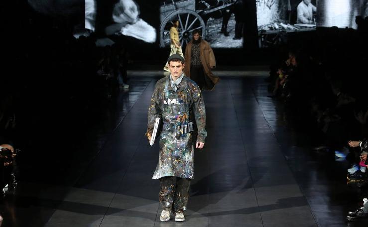 Dolce & Gabanna: Milán Fashion Week masculina Otoño/Invierno 2020