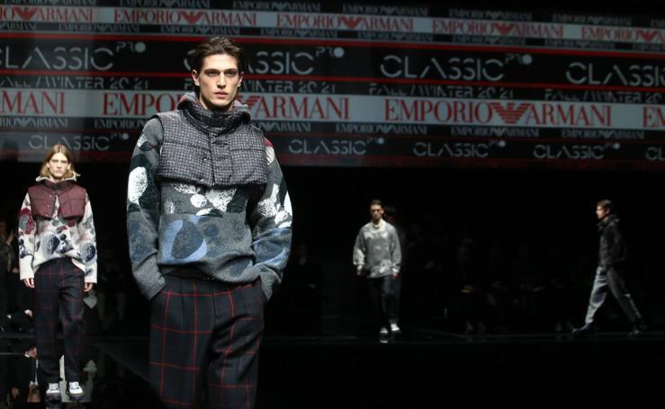 Emporio Armani: Milán Fashion Week masculina Otoño/Invierno 2020