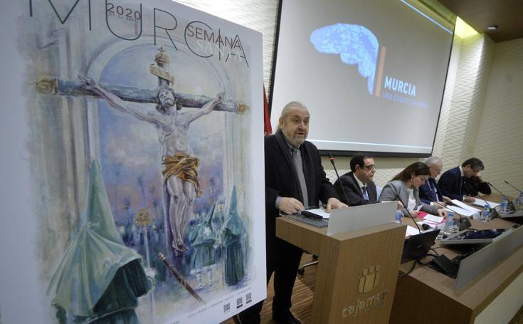 Presentación del cartel de la Semana Santa de Murcia