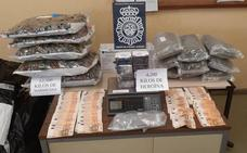 Desarticulada una banda de narcos que distribuía heroína camuflada en sacos de comida de perros