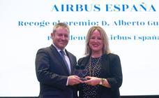 Los galardonados en los premios Aquí Europa-Vocento