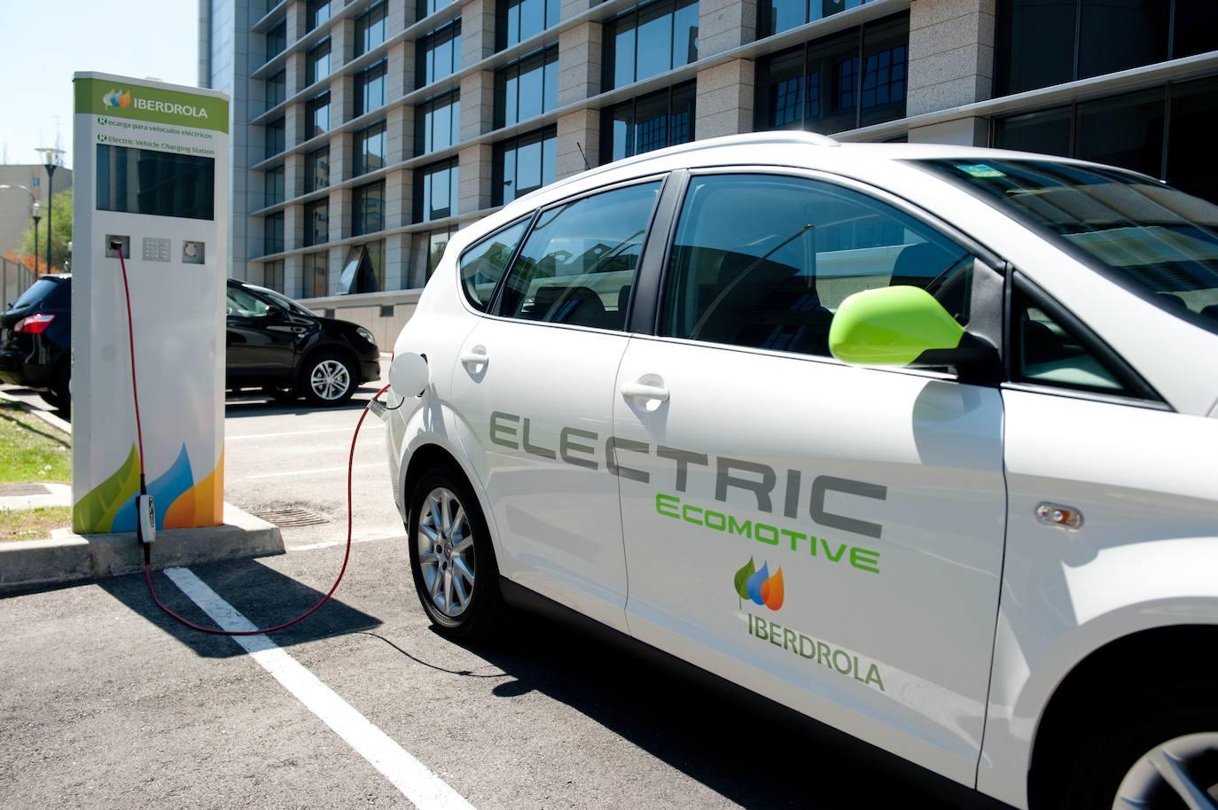 Así serán los nuevos puntos de recarga de vehículos eléctricos de Murcia./Iberdrola