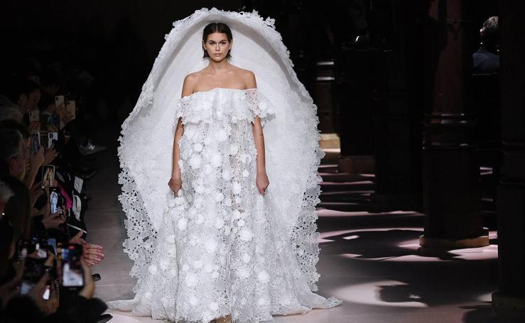 Givenchy: Alta Costura Primavera/Verano 2020