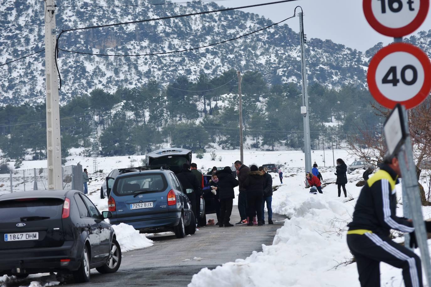 Campo de San Juan: 'Finde' de nieve en la Región de Murcia | La Verdad