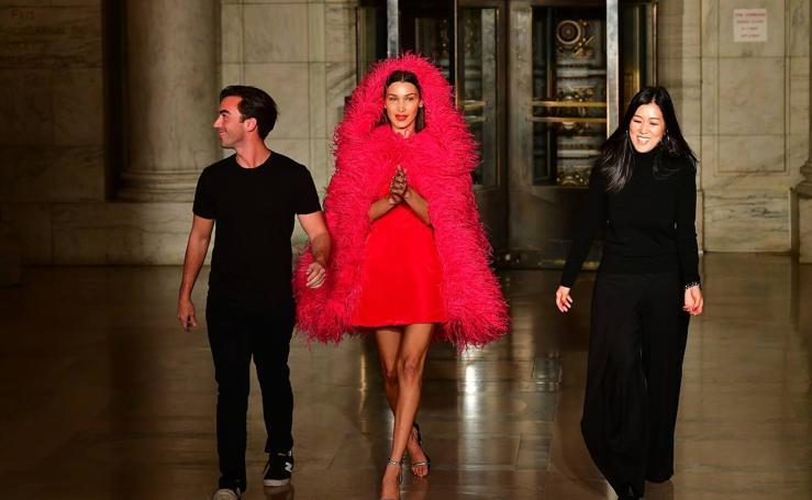 Óscar de la Renta: New York Fashion Week Otoño/Invierno 2020