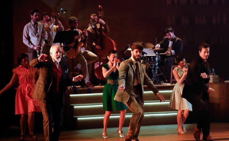Shakespeare a ritmo de swing en el Teatro Circo