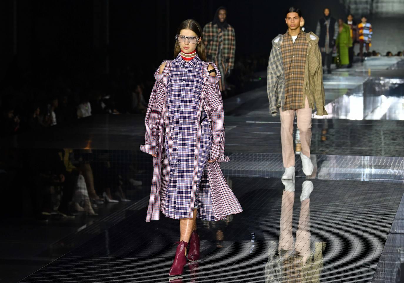 Burberry: Londres Fashion Week Otoño/Invierno 2020