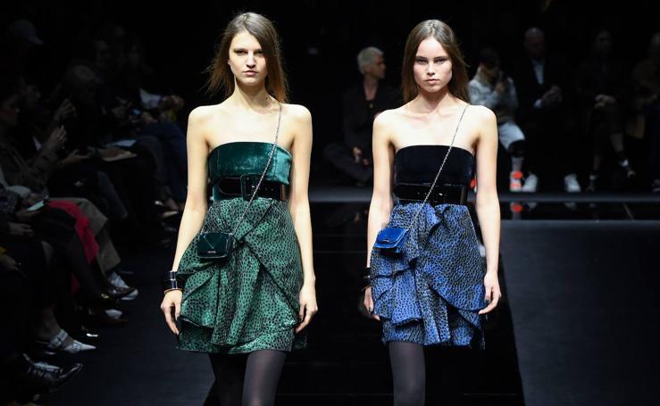 Emporio Armani: Milán Fashion Week Otoño/Invierno 2020
