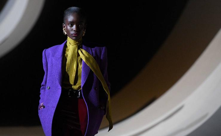 Yves Saint Laurent: París Fashion Week Otoño/Invierno 2020