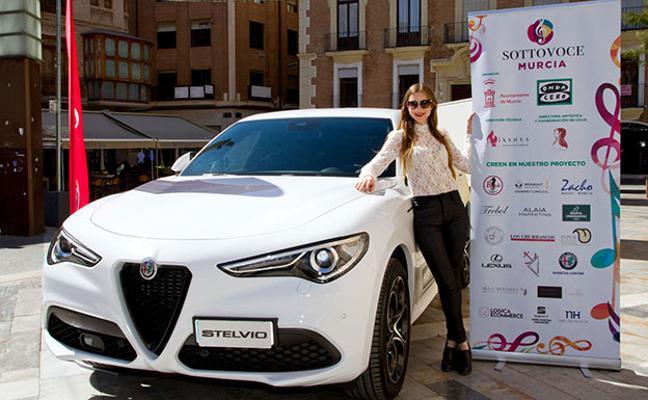 Huertas Center inaugura el ciclo de conciertos Sottovoce con el lujo del Alfa Romeo Stelvio
