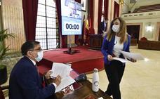 Pleno del Ayuntamiento de Murcia de mayo de 2020