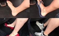 Seis tipos de calzado que te pueden suponer una multa al conducir