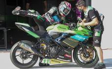 Ana Carrasco, fuera de los puntos en la segunda carrera en MotorLand Aragón