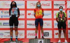 Pilar Núñez, plata en la categoría máster 30B en los Campeonatos de España de ciclismo