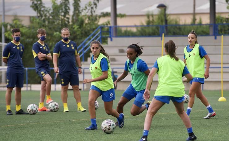 Las jugadoras del Alhama ElPozo se rearman