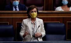 Calvo acusa de antipatriota a Casado por denunciar la reforma del CGPJ en Bruselas