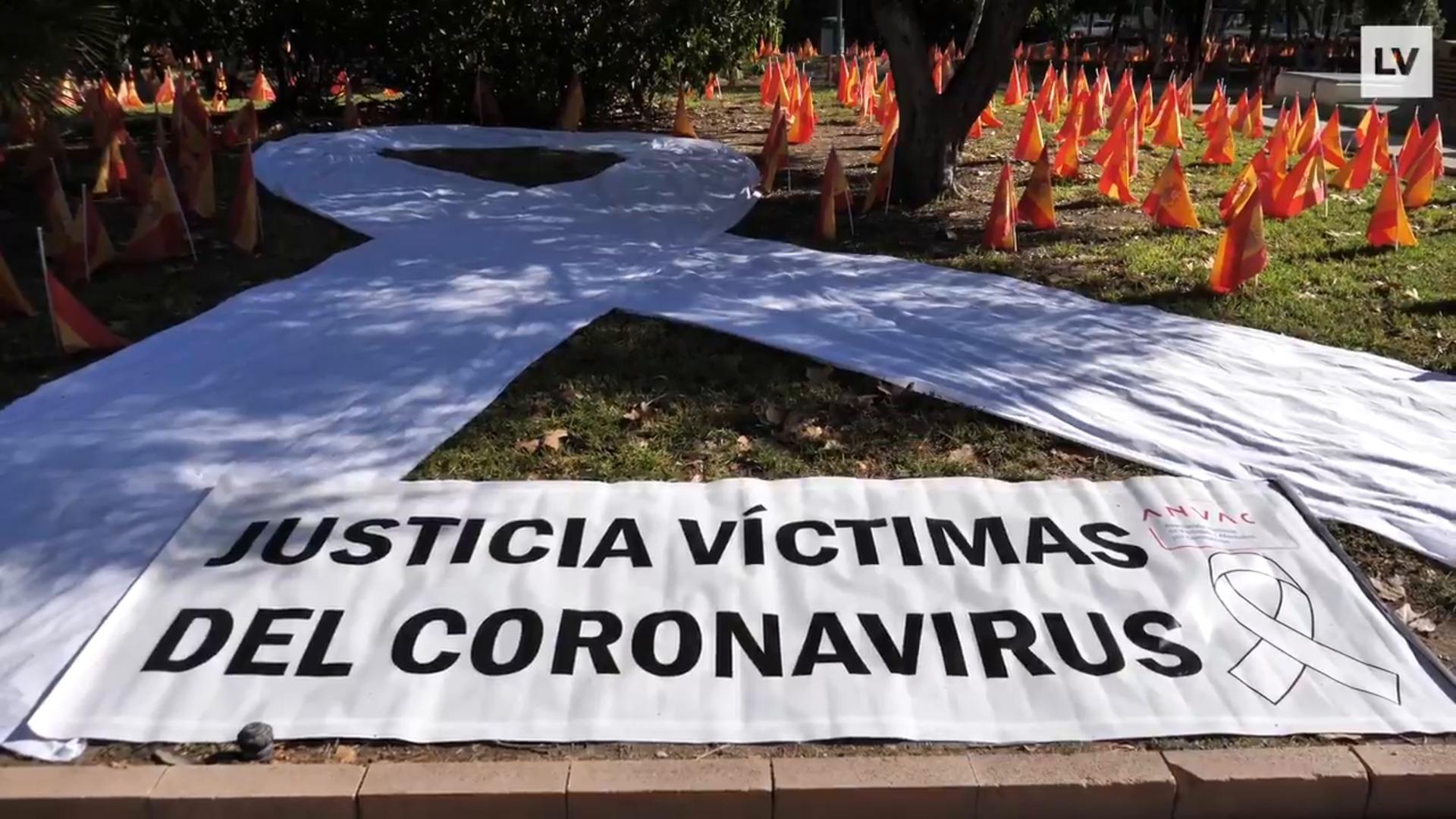 Manifiesto de la Anvac y minuto de silencio en Murcia por las víctimas del coronavirus