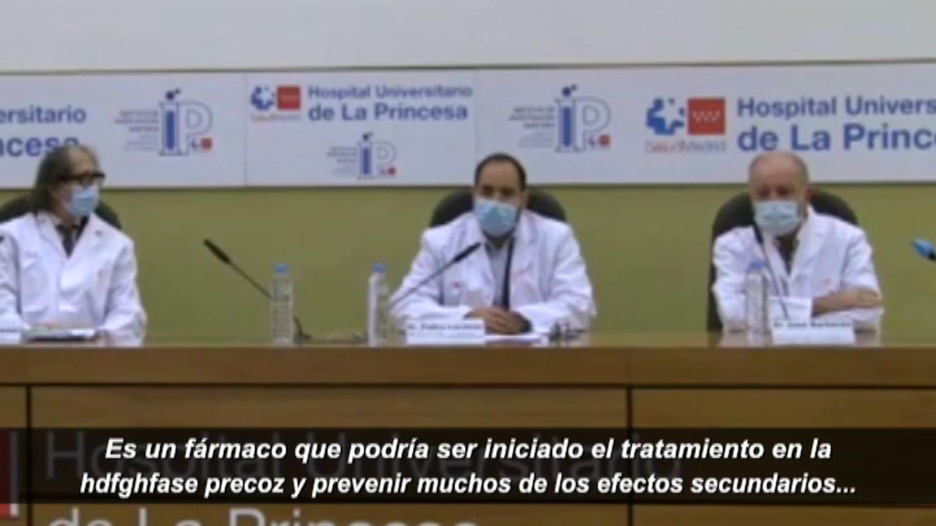 Madrid lidera un ensayo clínico que reduce la carga viral en pacientes con COVID-19