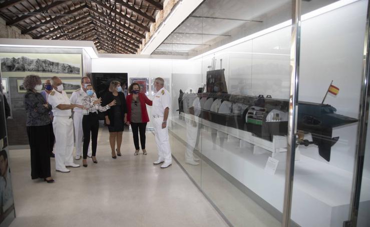 Nueva zona museística de la sala Isaac Peral del Museo Naval de Cartagena