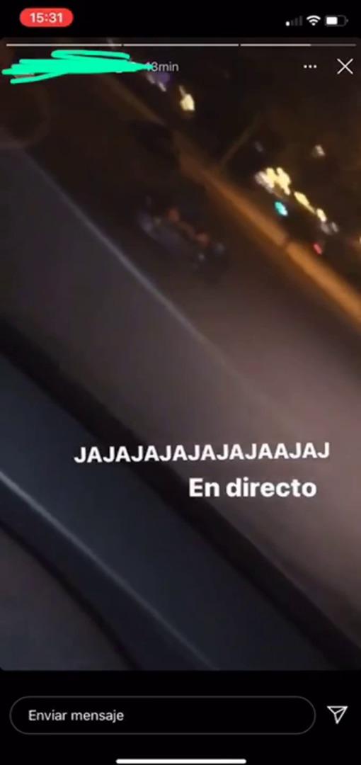 Varios individuos conducen de forma temeraria por Murcia con karts robados