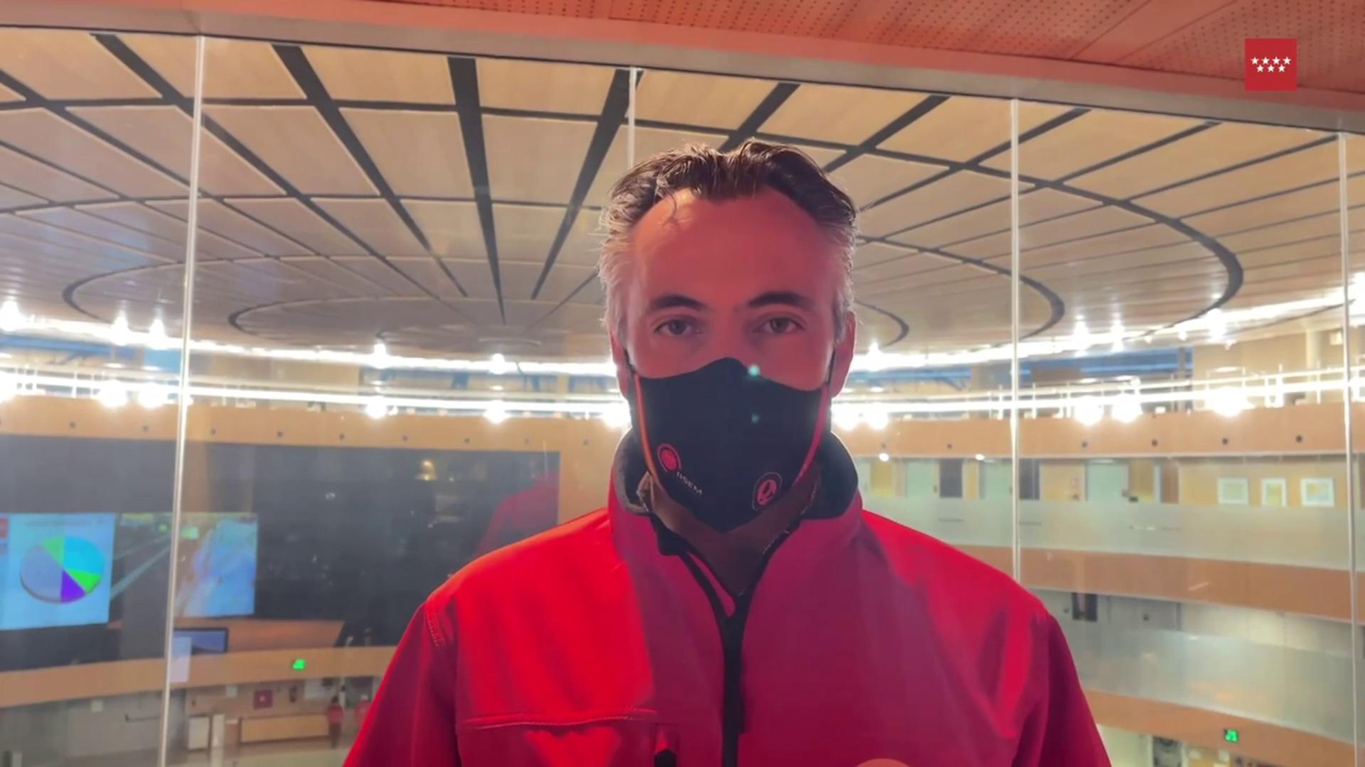 Emergencias de la Comunidad de Madrid pide precaución frente al hielo