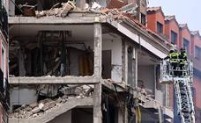 Imágenes de la explosión mortal en Madrid