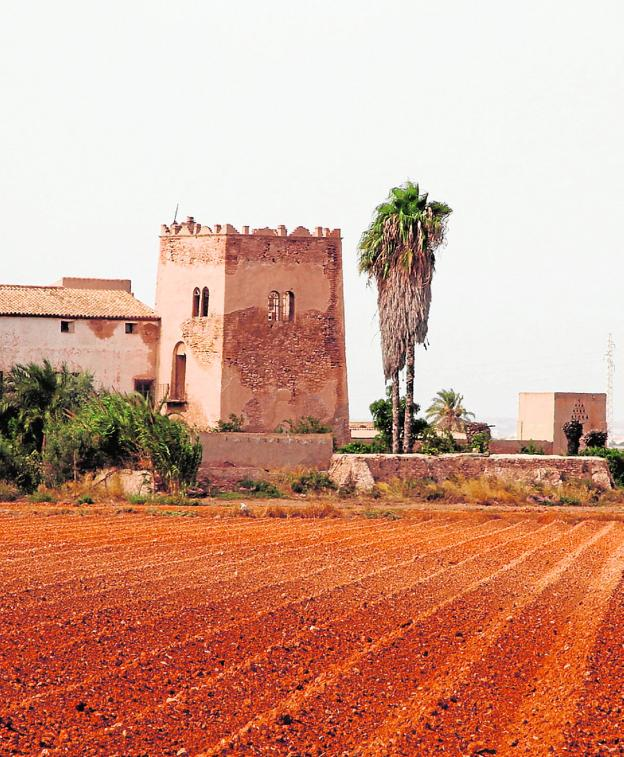 Torre del Negro, between El Algar and Los Alcázares.