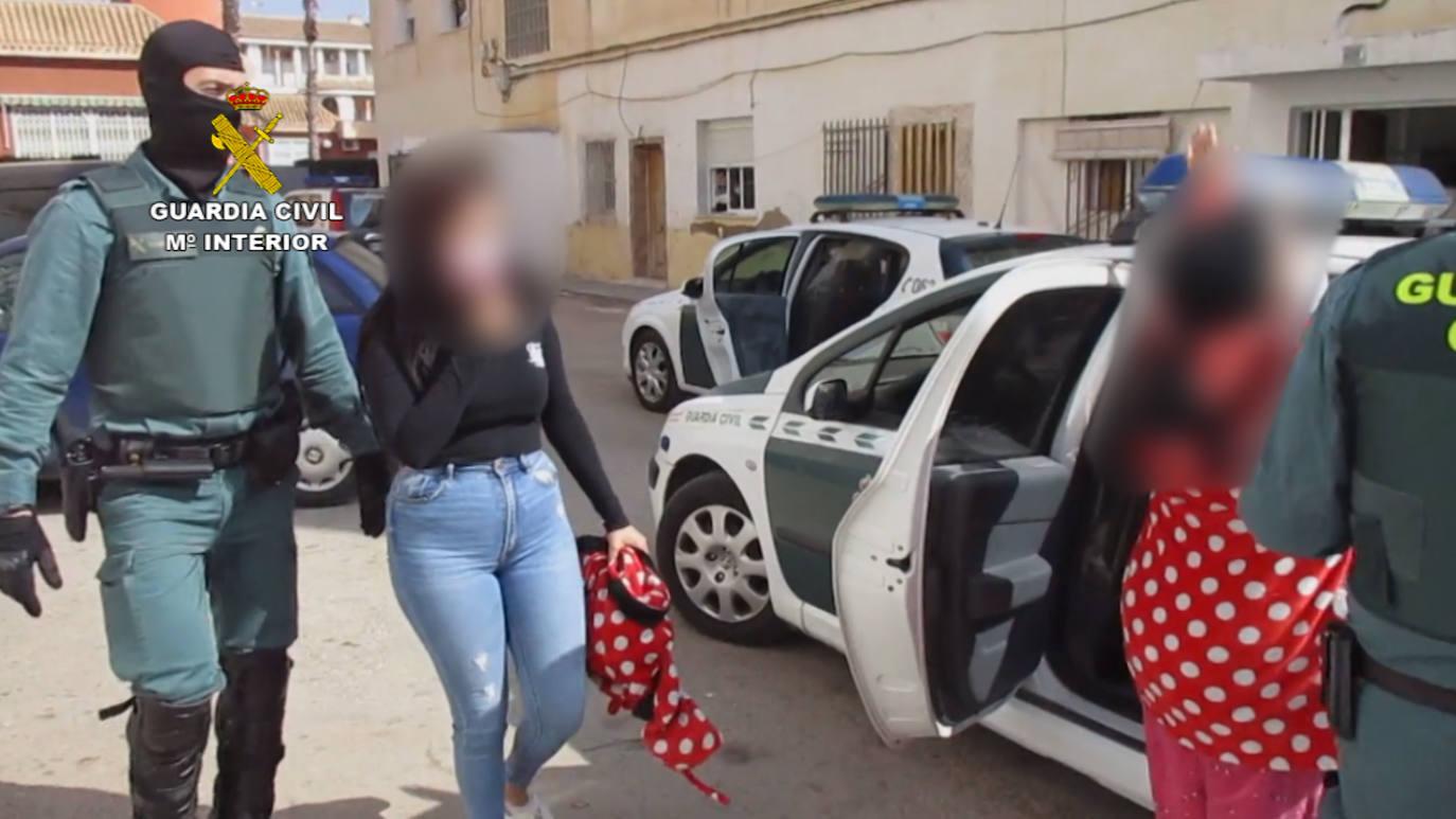 Desarticulado un punto de venta de droga en San Javier