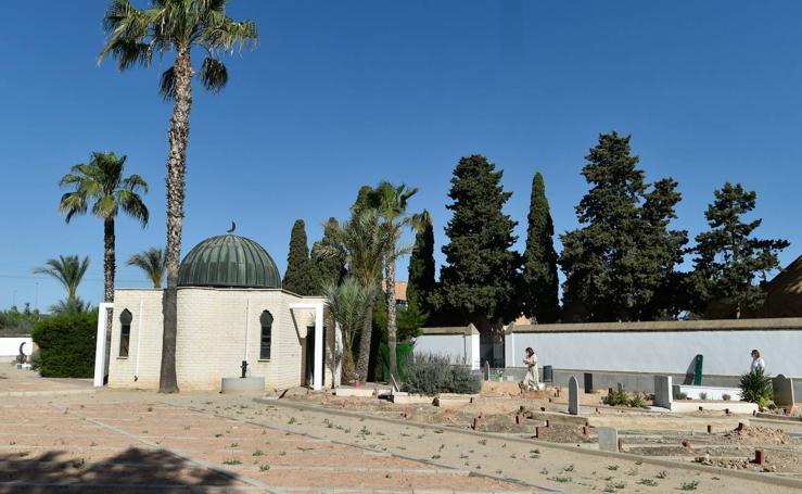 Concluyen las obras de ampliación del cementerio musulmán de Murcia