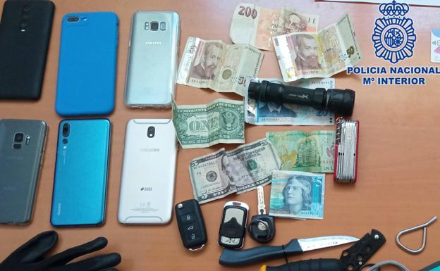 Tres detenidos por intentar sustraer la caja registradora