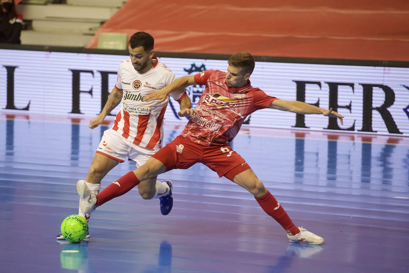 ElPozo Murcia gana el derbi murciano y es colíder junto a Palma y Levante