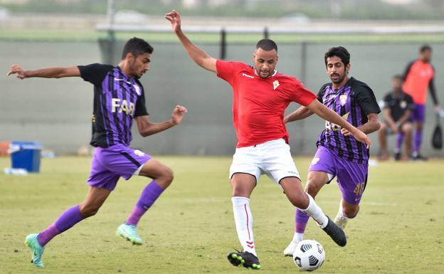 Pablo Ganet, en el amistoso frente al Al Ain.