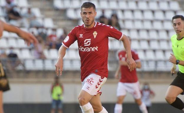 Julio Gracia, en un partido de esta temporada.