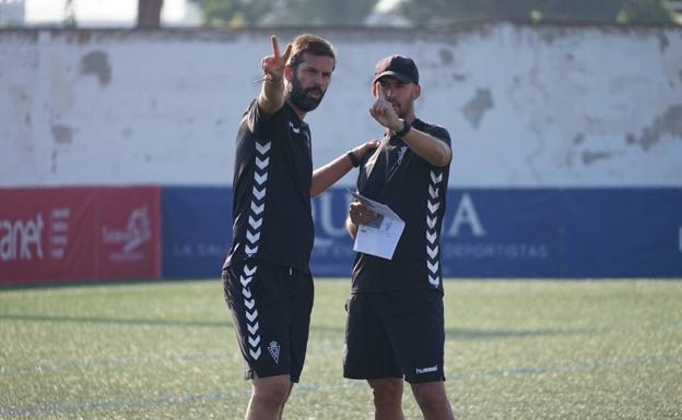David Sánchez y Pedro Molina.