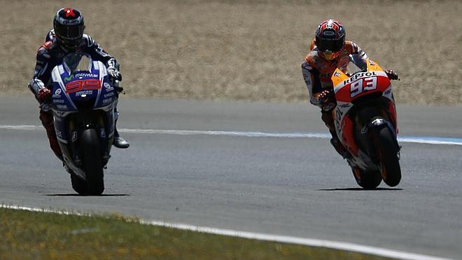 Márquez revienta el Mundial en Jerez