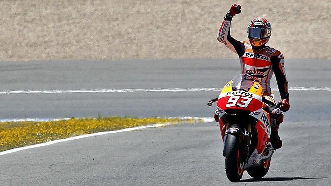 Márquez renueva con Repsol Honda