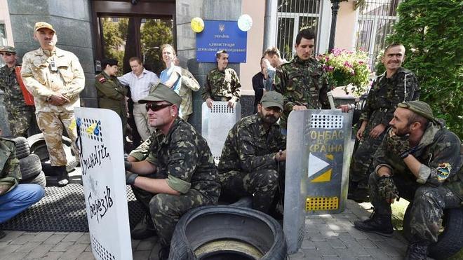 Ucrania ve inadmisible la entrada de tanques por la frontera rusa