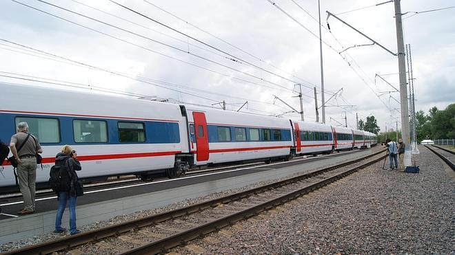 Talgo presenta el tren que recorrerá Rusia y unirá Moscú con Berlín