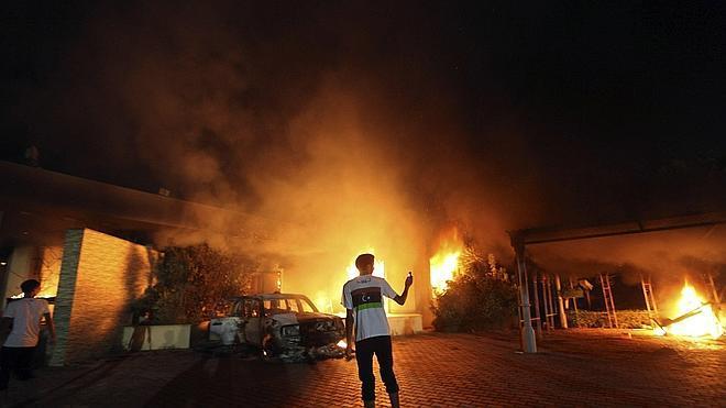 EE UU detiene al sospechoso de atentar contra su embajada en Bengasi en 2012