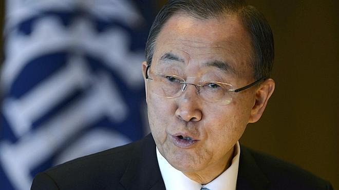 Ban Ki-moon pide al Consejo de Seguridad que se imponga un embargo de armas a Siria