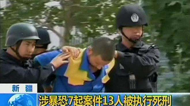 Trece muertos en un ataque contra una comisaría en China